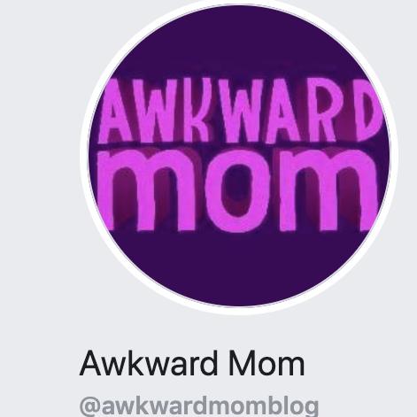 awkward mom logo
