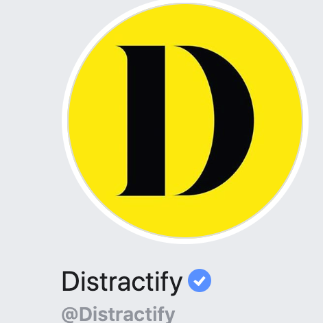 distractify logo