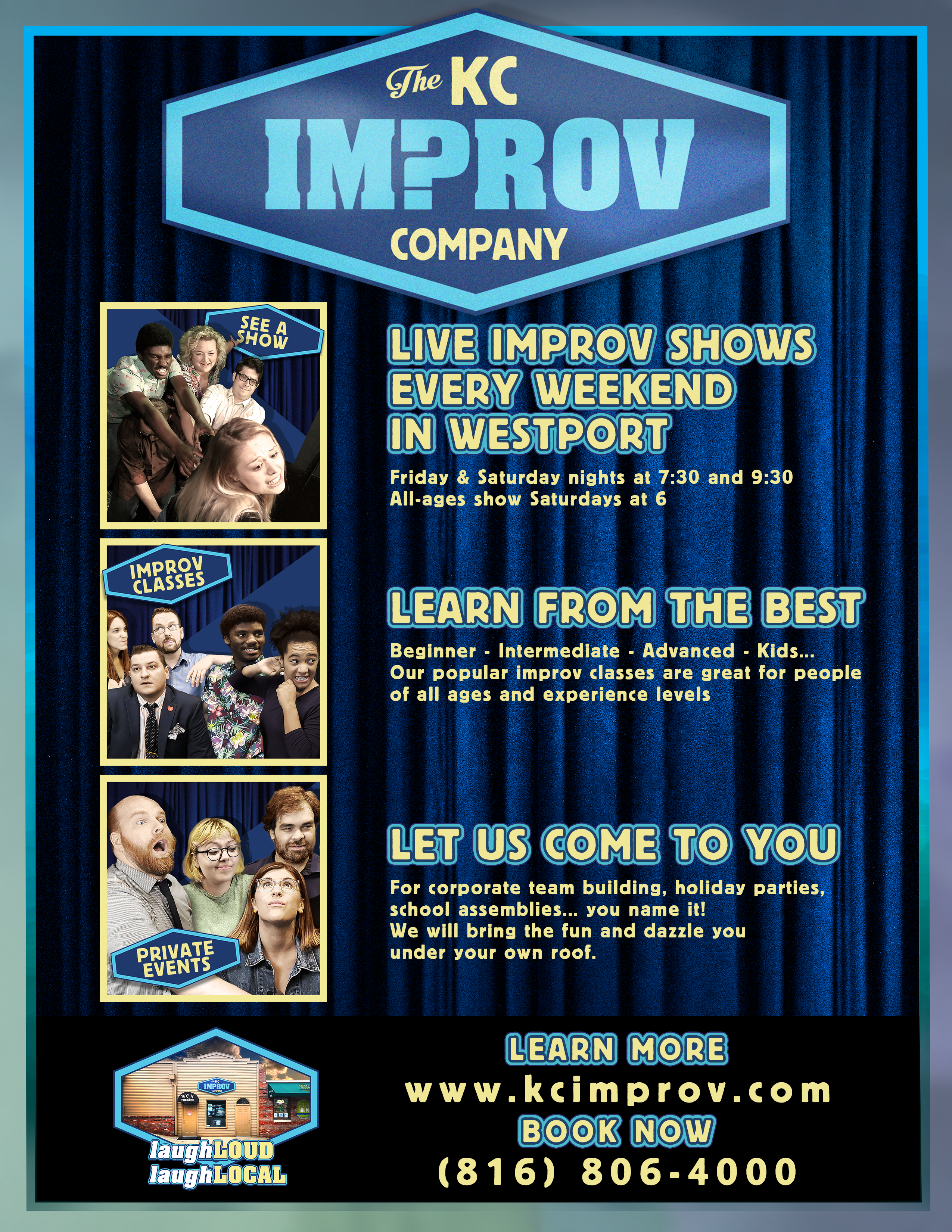kc improv co info poster
