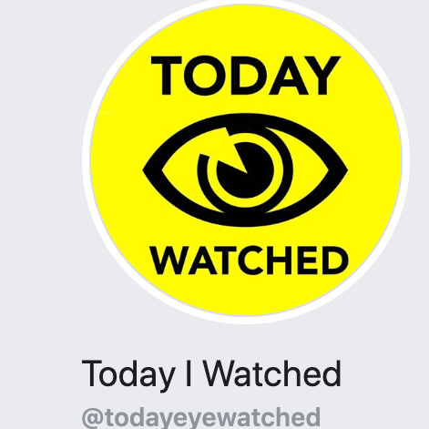 today i watched logo